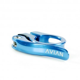 Avian Aviara Cnc Quick Release Seatclamp Blue