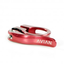 Avian Aviara Cnc Quick Release Seatclamp Red