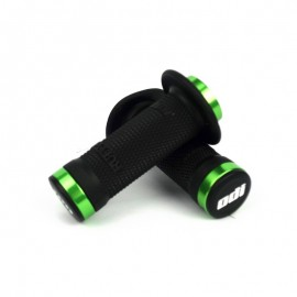 Odi Bmx Ruffian Flange Lock On Blackgrip 100 Mm Green