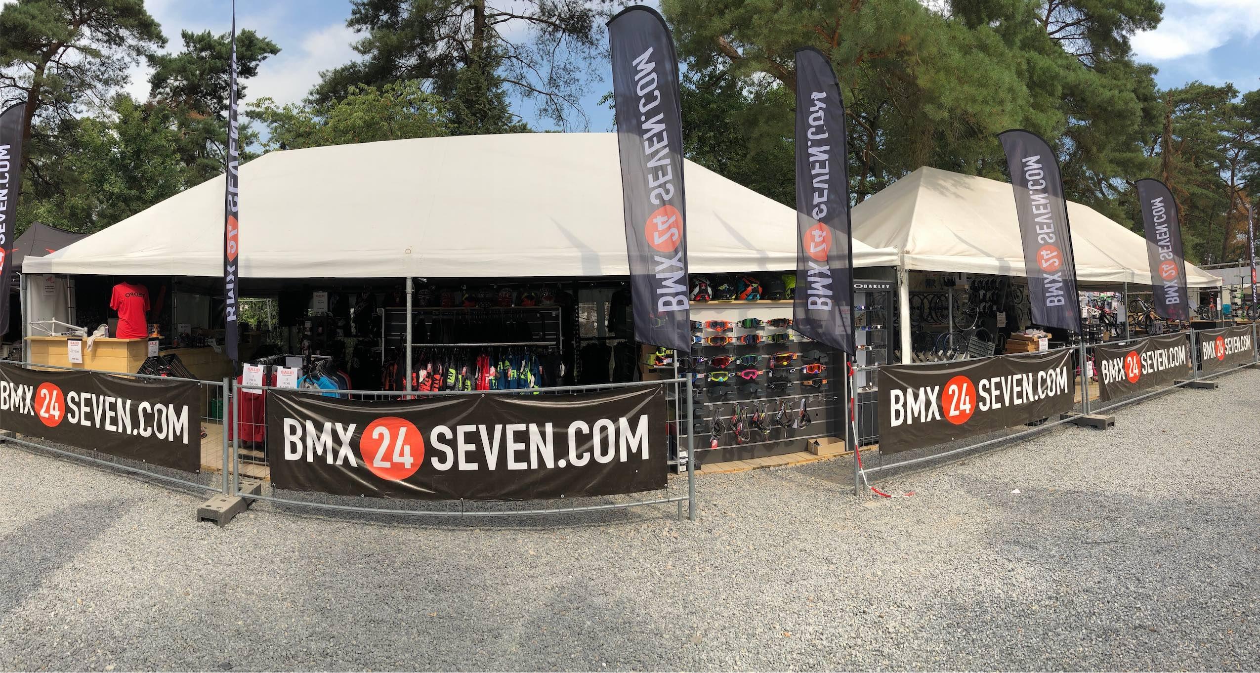 BMX Worlds Zolder setup